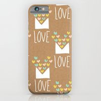 Love Letter iPhone 6 Slim Case