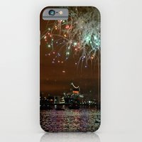 iPhone & iPod Case featuring Fireworks by Christine Workman
