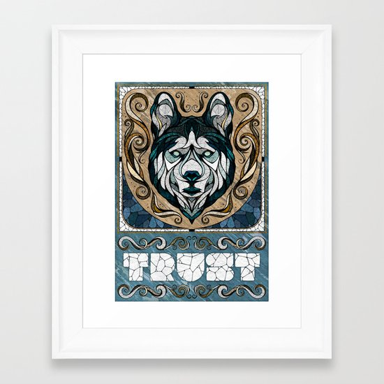 Trust Framed Art Print
