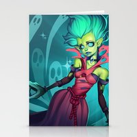 DEATH PROPHET Stationery Cards