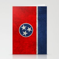 Tennessee State flag, Vintage version Stationery Cards