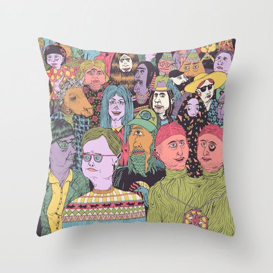 The Gathering Throw Pillow