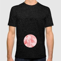 Intimate Pink  Mens Fitted Tee Tri-Black SMALL