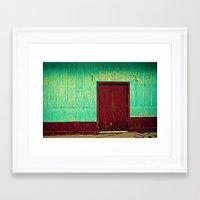 Doorways III Framed Art Print