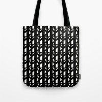 Marsman Black & White Pattern Tote Bag