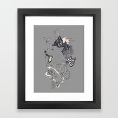 Northern Americana  Framed Art Print