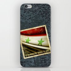 STICKER OF SYRIA flag iPhone & iPod Skin