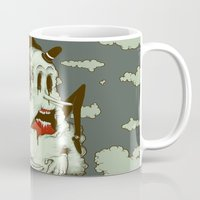 Creep Cloud Face Melt Mug