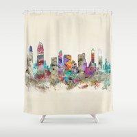 San Diego California Shower Curtain