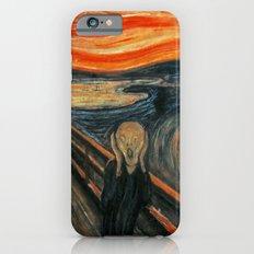 The Scream by Edvard Munch iPhone 6 Slim Case