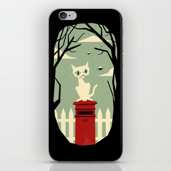 Let's meet at the red post box iPhone & iPod Skin
