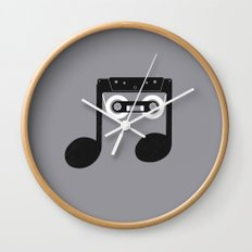 Analog Music Wall Clock