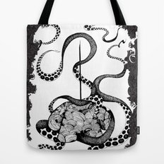 Octopus Munny Poster Tote Bag