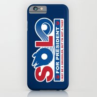 iPhone & iPod Case featuring Solo for President by Grady