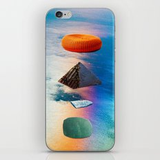 pyramid stack iPhone & iPod Skin
