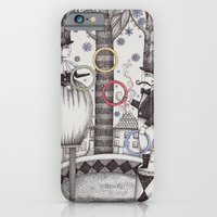 iPhone & iPod Case featuring Winter Circus by Judith Clay