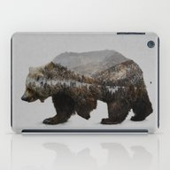 iPad Case featuring The Kodiak Brown Bear by Davies Babies