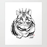 I am KING Art Print