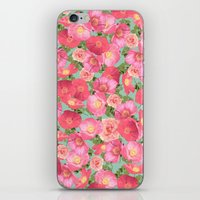 Flora Collage I iPhone & iPod Skin
