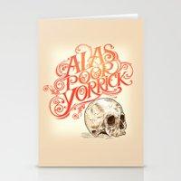 Hamlet Skull Stationery Cards