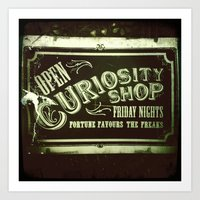 Night Curiosity Art Print