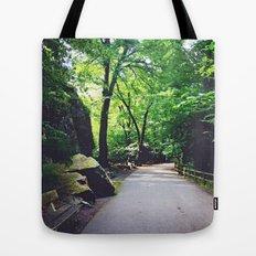 A Woodland Path Tote Bag