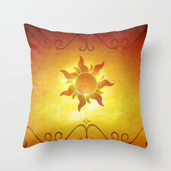 ...and at last i see the light! Throw Pillow