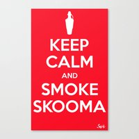 Smoke Skooma Canvas Print