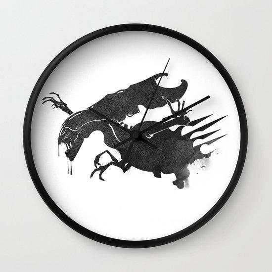 The Queen Alien Wall Clock