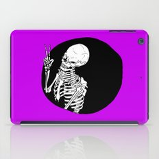 Skeleton Wink iPad Case