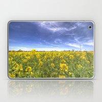 Yellow Fields Of Summer Laptop & iPad Skin