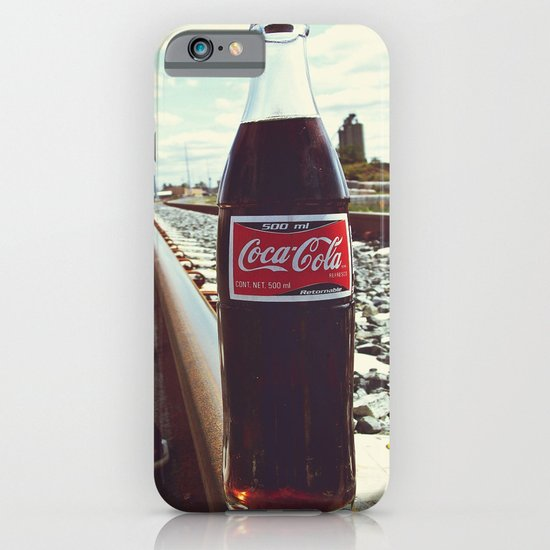 Urban railway Coke iPhone & iPod Case
