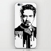 Avengers in Ink: Iron Man iPhone & iPod Skin