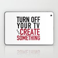 Turn Off Your TV - You'r… Laptop & iPad Skin