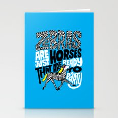 Party Horses Stationery Cards
