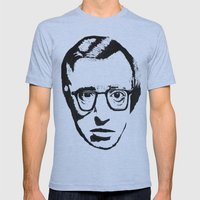 Woody Allen Mens Fitted Tee Athletic Blue SMALL