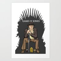 Game Of Jones Art Print
