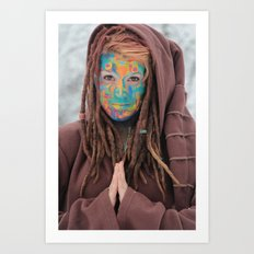 One of the Rainbow Warriors  Art Print