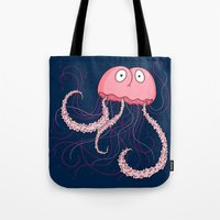 Jellyfish Buttface Tote Bag