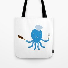 Octopus shef Tote Bag