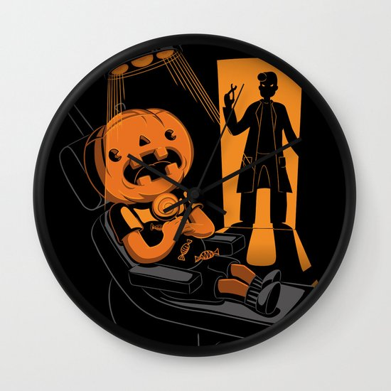 Are You Afraid of the Dentist? Wall Clock