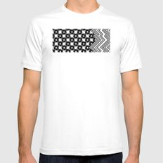 melt Mens Fitted Tee SMALL White