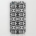Black and White Tile iPhone & iPod Case