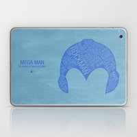 Mega Man Typography Laptop & iPad Skin