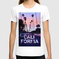 "california T-shirts featuring CaliforniA by ""CVogiatzi."
