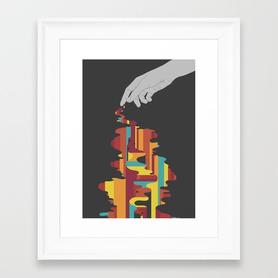 Colourbleed Framed Art Print