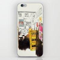 Tuesday Night Doors iPhone & iPod Skin