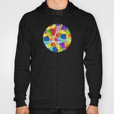 Candy Rainbow Geometric Hoody