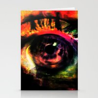 mystic eye Stationery Cards