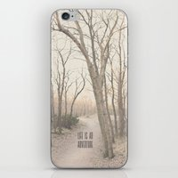 Life Is An Adventure iPhone & iPod Skin